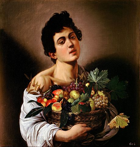 Caravaggio Boy with a Basket of Fruit 1593