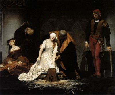 Delaroche The Execution of Lady Jane Grey 1833