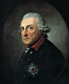 Frederick the Great, Anton Graf, 1781