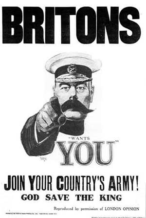 WWI poster Kitchener