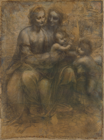 Leonardo Virgin and Child with St. Anne