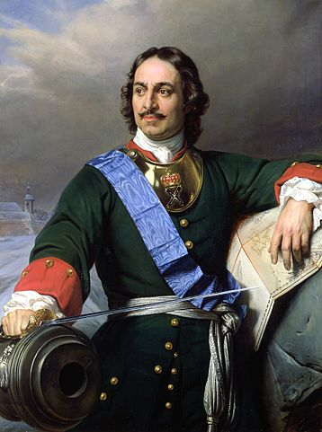 Peter the Great (1672-1725) by Paul Delaroche